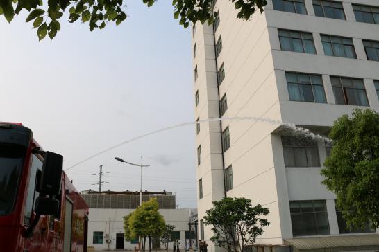 泰州市中西医结合医院成功举行消防安全实战演